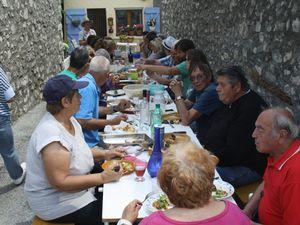 Une nouvelle tradition s'instaure à Allons, la fête des voisins