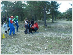 Photos gentiment fournies par Magali Navarro, institutrice maternelle