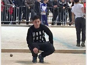 Un jeune Barrêmois en demi finale cadets à Martigues