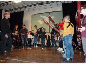 Castellane  : Concert de la classe orchestre, un vrai succès