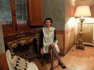Vanda Benes, actrice, en représentation, en tournée...