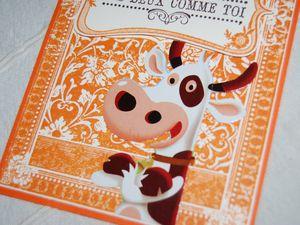 Une vache ...