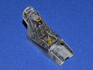 Quelques vues du pré-cockpit avant insertion dans lefuselage