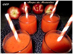 Soupe de Nectarine