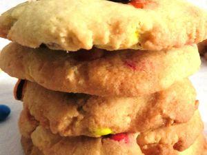 Mes cookies multicolore aux M&amp&#x3B;M'S