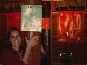 Images de l'exposition de la galerie Lec Lec Tic et de l'artiste peintre