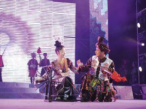 Ensemble folklorique national des minorités de Qiandongnan, lundi 4 août à Avignonet (31)