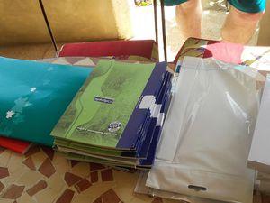 Le matériel est réparti entre l'école élementaire de Sorobougou, et celle de Ngaparou II. Du marériel apporté en avril n'a pas été livré compte tenu de la fin d'année scolaire toute proche et attend d'être remis en octobre lors de l'ouverture de l'année scolaire