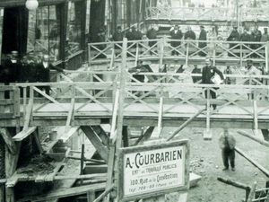 Construction de la Samaritaine