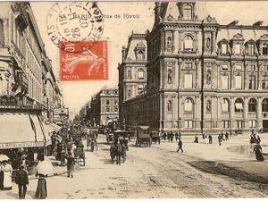 1907 La rue de Rivoli
