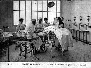 Pavillon des tuberculeux et salle d'opérations