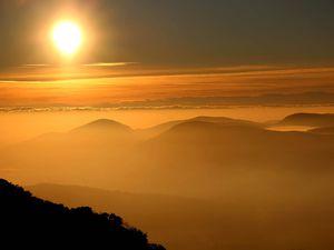 Lever de soleil du St Pilon