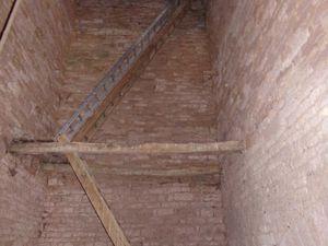 Accès à l'intérieur du clocher