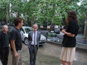 Visite du nouveau Consul général de France à l'AF