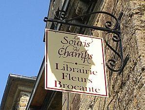La Souris des Champs (livres - fleurs - brocante)
