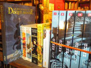 Arrivage de fantasy à la librairie Boulavogue