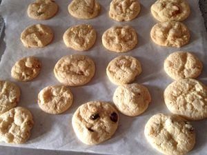 Cookies selon la recette de Laura Todd