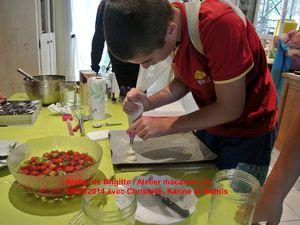 Atelier macarons du 09/08/2014