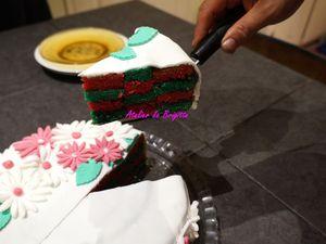 Gâteau au yaourt sans yaourt ou gâteau damier