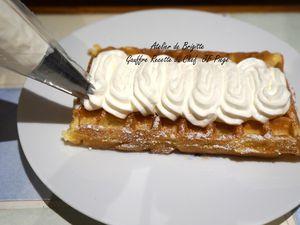Gaufres, recette du Chef JF Piège