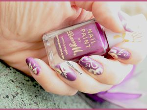 Barry M silk orchid...