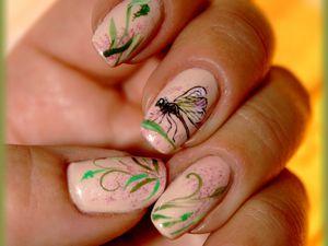 La jolie petite libellule......