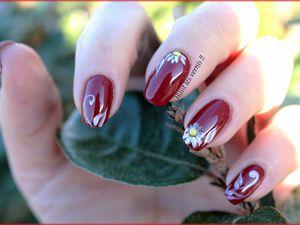 nail daisy pour mon prince...