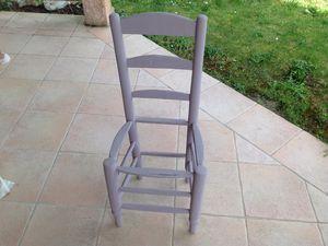 Rénovation de chaise étape 2