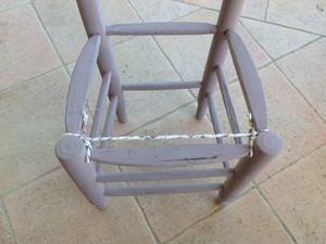 Rénovation de chaise étape  4