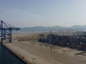 Quais du port d'Algésiras