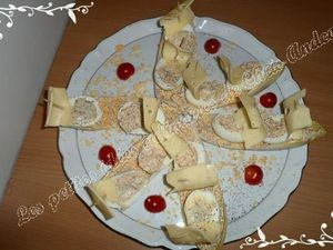 Voiliers mimosas au thon