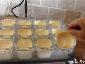 Crèmes aux oeufs légères à la multi délices SEB