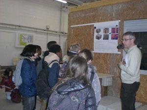 La technologie du collège Saint Remi s'est faite au lycée des métiers du BTP François ARAGO