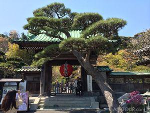Le temple Hase-dera, dans les hauteurs de Kamakura