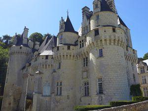 Très beau château d' Ussé