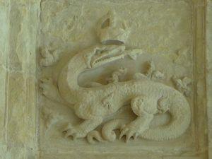 La salamandre emblême du roi François 1er