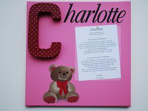 Charlotte, Chloé et Clara....
