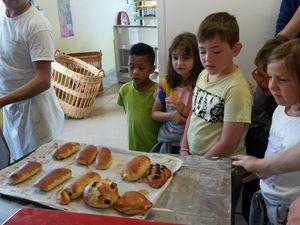 Visite de la boulangerie