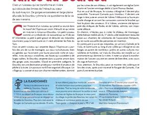 [Magazine du Conseil Départemental] Le Calmels-et-le-Viala et Anne-Marie Constans à l'honneur