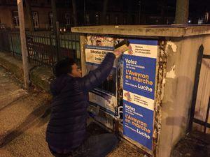 [Départementales 2015] Campagne d'affichage départementale autour de Jean-Claude Luche