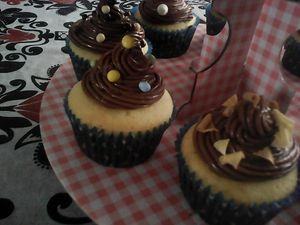 CUPCAKES TOPPING NUTELLA/MASCARPONE