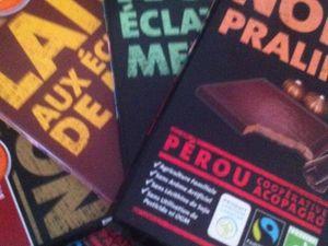 La journée mondiale du chocolat avec Alter Eco du 1 octobre 2014 .