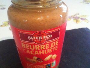 Madeleines espagnoles au beurre de cacahuète équitable .