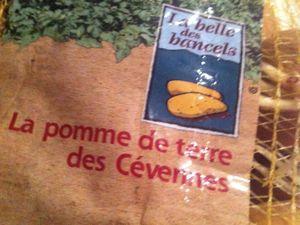 Hachis parmentier de bœuf aux pommes de terre des Cévennes .