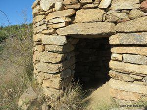 cabanes en pierres sèches