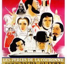 Les Perles de la couronne Sacha Guitry et Christian-Jaquet