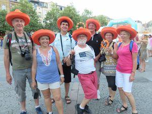 Avec les amis du clos au LUXEMBOURG