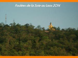 Foulées du Laos 2014. Course des Temples de Vat Phou.