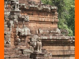 Angkor Thom. Le Palais Royal et le Phimeanakas