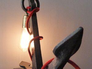 &quot&#x3B;Hissez haut Santiano&quot&#x3B; la lampe ancre marine